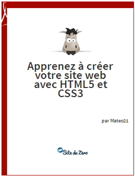 Télécharger ebook gratuit Apprenez a creer votre site web avec HTML5 et CSS3 - livre numérique